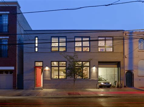 warehouse converted to house warehouse conversion contemporary philadelphia by rasmussen su architects