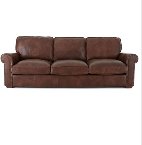 jcpenney kingston leather sofa shopstyle