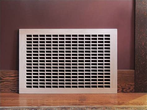 Decorative Cold Air Return Grilles by Eggcrate Cold Air Return Vent Cover