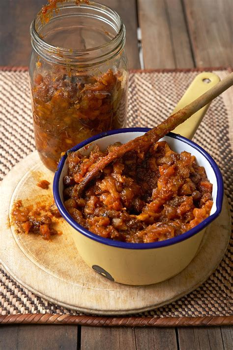 south african fruit chutney recipe
