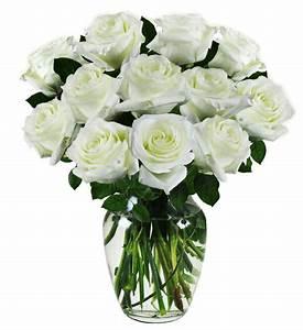 White Sympathy Roses | Avas Flowers