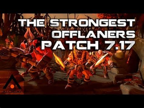 dota   strongest offlane heroes  patch  pro