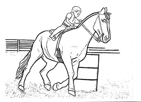 cowgirls  horses coloring pages   print