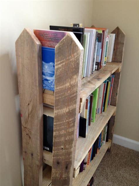 pallet bookcases bookshelves ideas wood pallet ideas