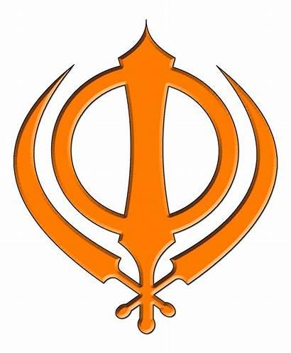 Khanda Orange Khalsa Singh