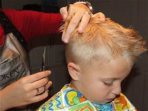 Giving Your Son A Haircut At Home
