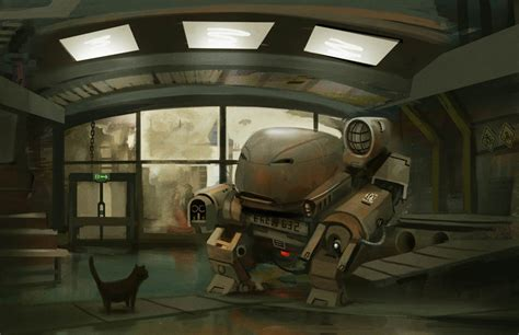 40 Stunning Artworks Of Futuristic Robots