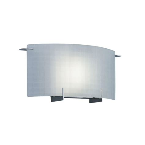 designers collection 1 light chrome wall
