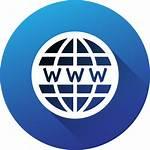 Icon Website Circle Social Gradient Getdrawings