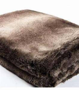 Plaid En Fourrure : plaid fausse fourrure luxe ours brun 130 x 180 cm plaid addict vente en ligne de plaid en ~ Teatrodelosmanantiales.com Idées de Décoration
