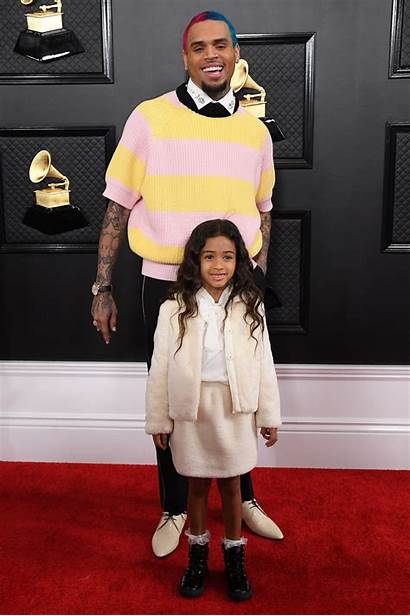 Awards Chris Brown Grammy Carpet 62nd David
