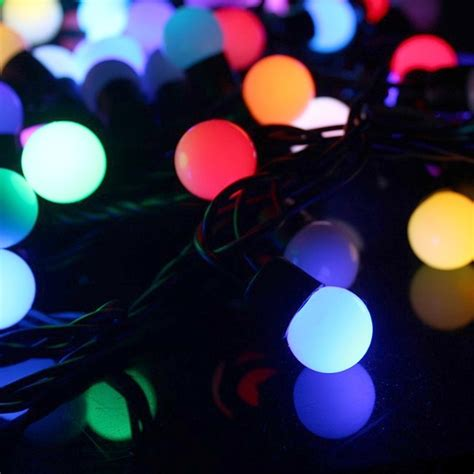 metre colour changing rgb led string lights