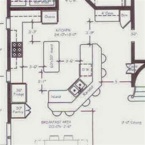island kitchen floor plans help with our kitchen floor plan