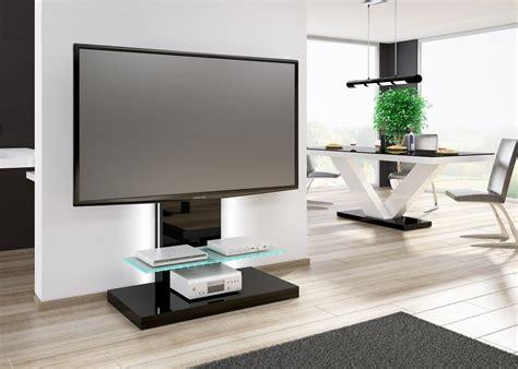 tv tisch schwarz design tv tisch hn 444 schwarz hochglanz tv schrank fernsehrack mit tv halterung hochglanz tv