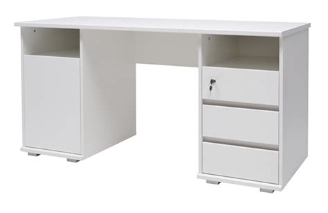 basika bureau bureau primus blanc
