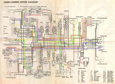 1981 yamaha xs650 heritage special wiring diagrams