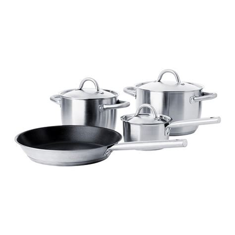 ikea 365 cookware cocina kitchen induction piece stainless steel pans pots accesorios cooking hob bateria types ollas pan pentole baterias