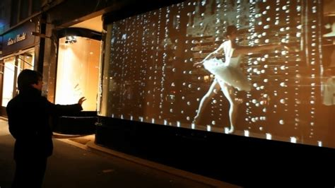french boutiques interactive window display psfk
