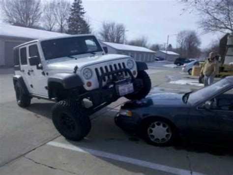 jeep douchebag jeep parking on nissan youtube
