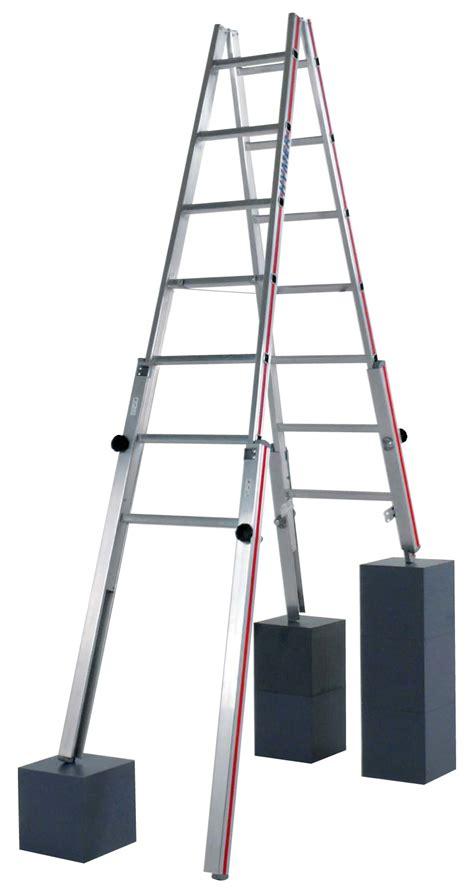 echelles echelle a 4 pieds reglables pour escaliers