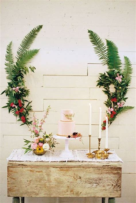 decorative ferns decorative ways to use ferns on your wedding day 2551971 weddbook