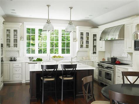 white kitchen colors best way to paint kitchen cabinets hgtv pictures ideas 1037
