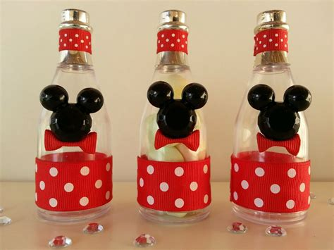 mickey mouse baby shower 12 mickey mouse fillable chagne bottles baby shower