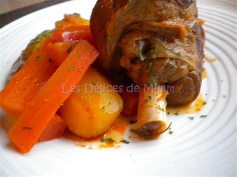 comment cuisiner les souris d agneau souris d agneau confites carottes et pommes de terre