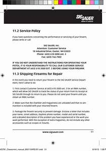 2 Service Policy  3 Shipping Firearms For Repair