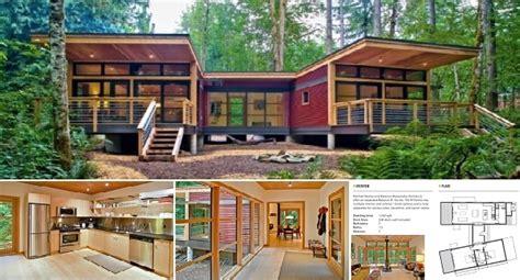 1240 sq ft prefab modern house home design garden architecture magazine