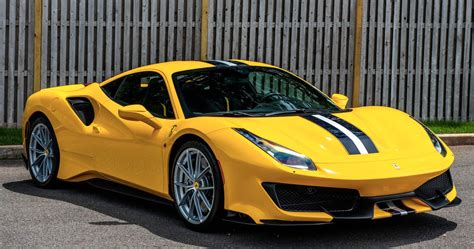 The 488 pista is described as ferrari's most powerful and most advanced special series model so far. 2019 Ferrari 488 Pista Is Appealing In Yellow And Track Ready