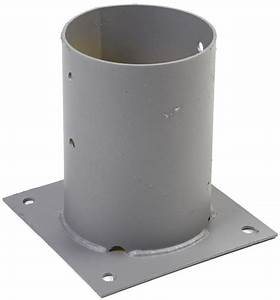 Support De Poteau : pied de poteau rond rondin bois tarif et prix b a bois ~ Melissatoandfro.com Idées de Décoration