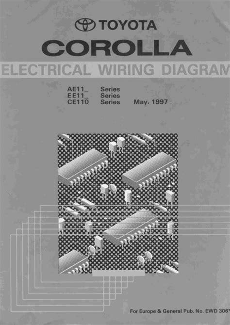 famous car manual toyota corolla  wiring diagram
