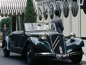 Citroen Traction Cabriolet : fotos de citroen traction avant 11cv cabrio 1935 ~ Medecine-chirurgie-esthetiques.com Avis de Voitures
