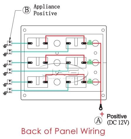 boat switch wiring diagram fuse box and wiring diagram