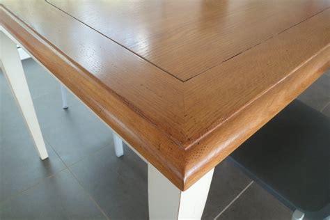 evier rectangulaire cuisine table en chene massif avec rallonges