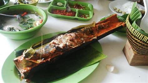 ikan patin bakar bambu picture  pondok ikan bakar