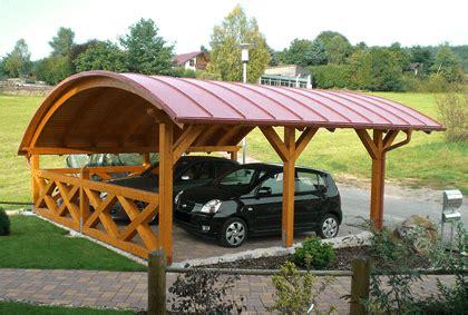 Bogendach Carport Auf Carportbauennet