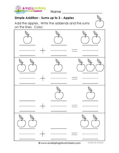 grade level worksheets kindergarten math addition worksheets worksheets kindergarten
