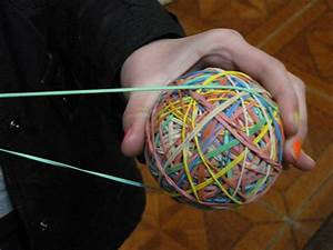 Rubber Band Bouncy Balls Anyone? - Natural Suburbia Balls and Bands