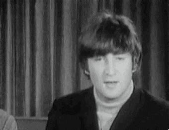 beatles laughing gif find share  giphy