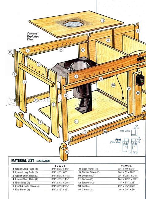downdraft table plans woodarchivist
