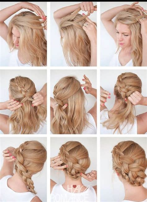 different hair up styles 8 εύκολα αλλά εντυπωσιακά χτενίσματα για γάμους και βαφτίσεις 5458