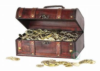 Treasure Chest Pirate Box Decorative Transparent