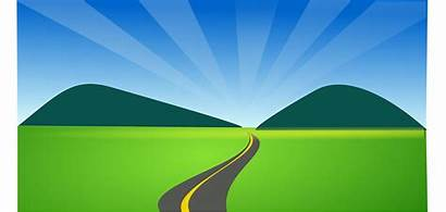 Horizon Clipart Road Country Countryside Hill Side