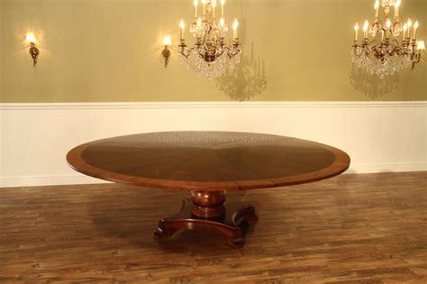 large  mahogany jupe dining table seats