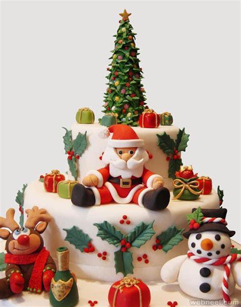 beautiful christmas cake decoration ideas  design
