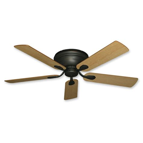 oil rubbed bronze ceiling fan with light flush mount flush mount ceiling fan 52 inch stratus in oil rubbed
