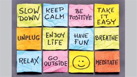 A More Practical Stress Management