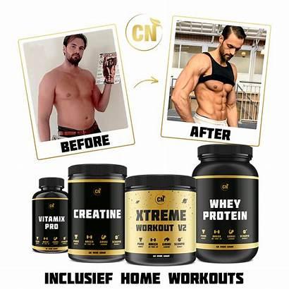 Workout V2 Spieropbouw Pakket Clean Nutrition Xtreme